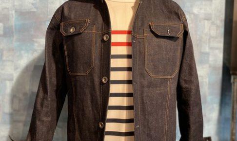 【メンズ】831 sewing ■ CycleZオリジナルデニムジャケット